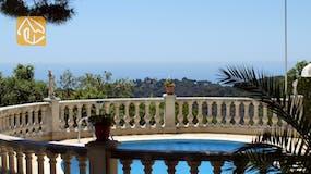 Casas de vacaciones Costa Brava España - Villa Savana - Una de las vistas