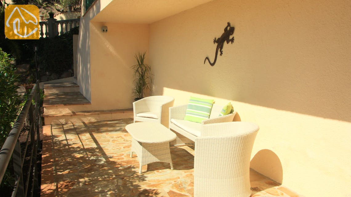 Holiday villas Costa Brava Spain - Villa Savana - Lounge area
