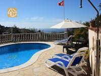 Holiday villas Costa Brava Spain - Villa Savana - Lounge area