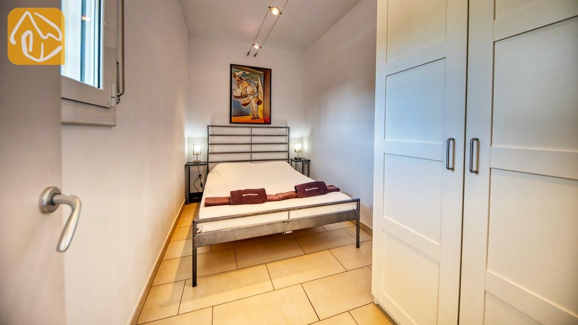 Casas de vacaciones Costa Brava España - Villa Madonna - Dormitorio