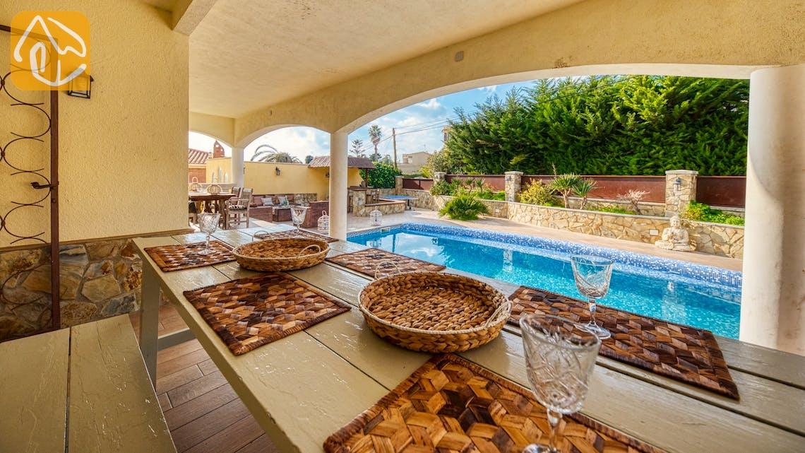 Ferienhäuser Costa Brava Spanien - Villa Madonna - Essbereich