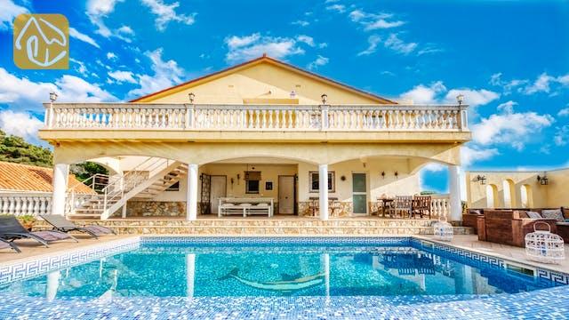Ferienhäuser Costa Brava Spanien - Villa Madonna - Villa Außenbereich
