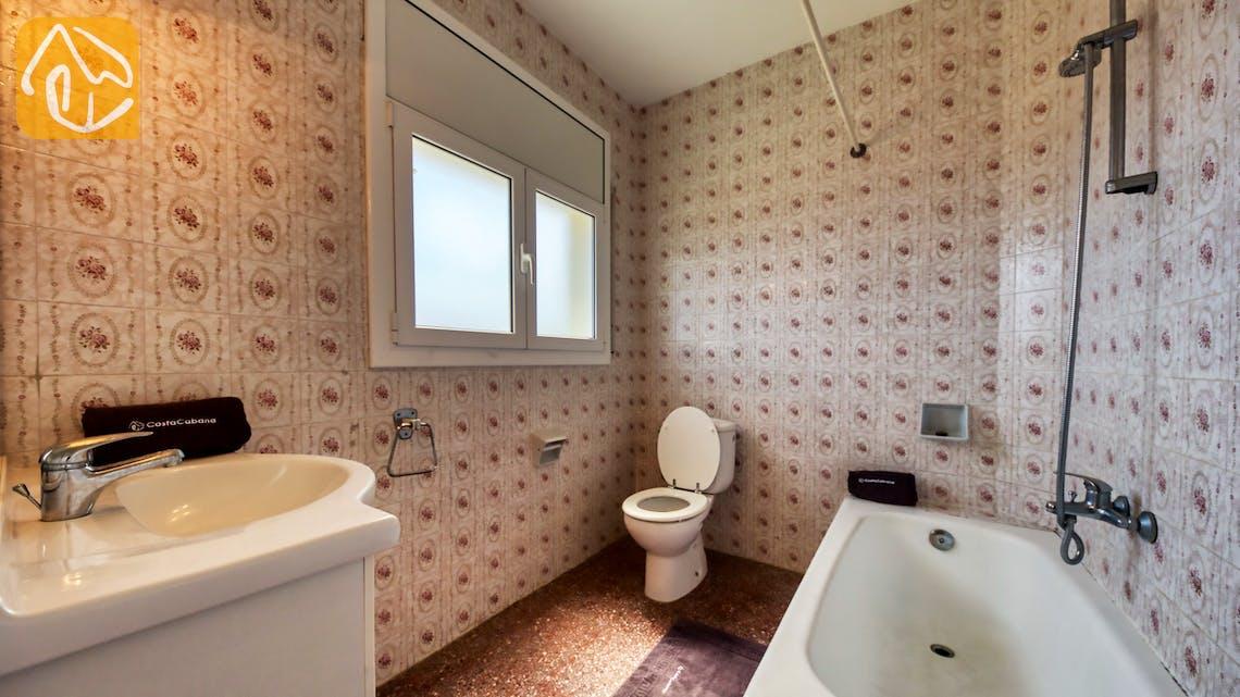 Holiday villas Costa Brava Spain - Villa Madonna - Bathroom
