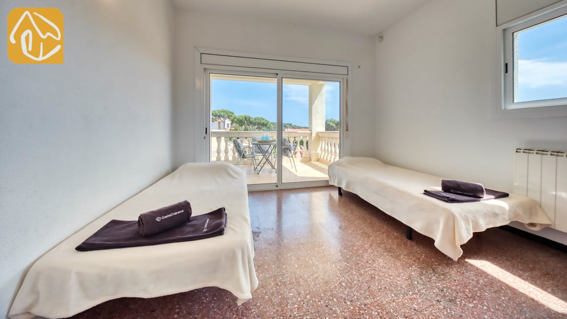 Vakantiehuizen Costa Brava Spanje - Villa Madonna - Slaapkamer