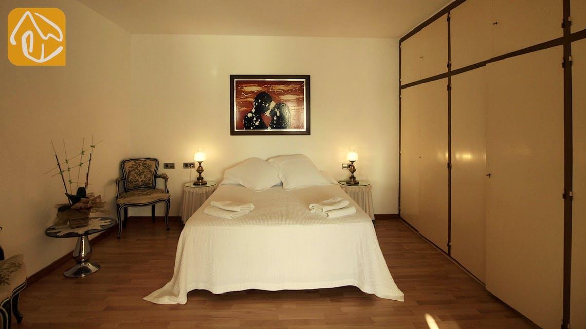 Holiday villas Costa Brava Spain - Villa Caselas - Bedroom