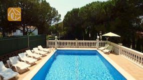 Casas de vacaciones Costa Brava España - Villa Caselas - Piscina