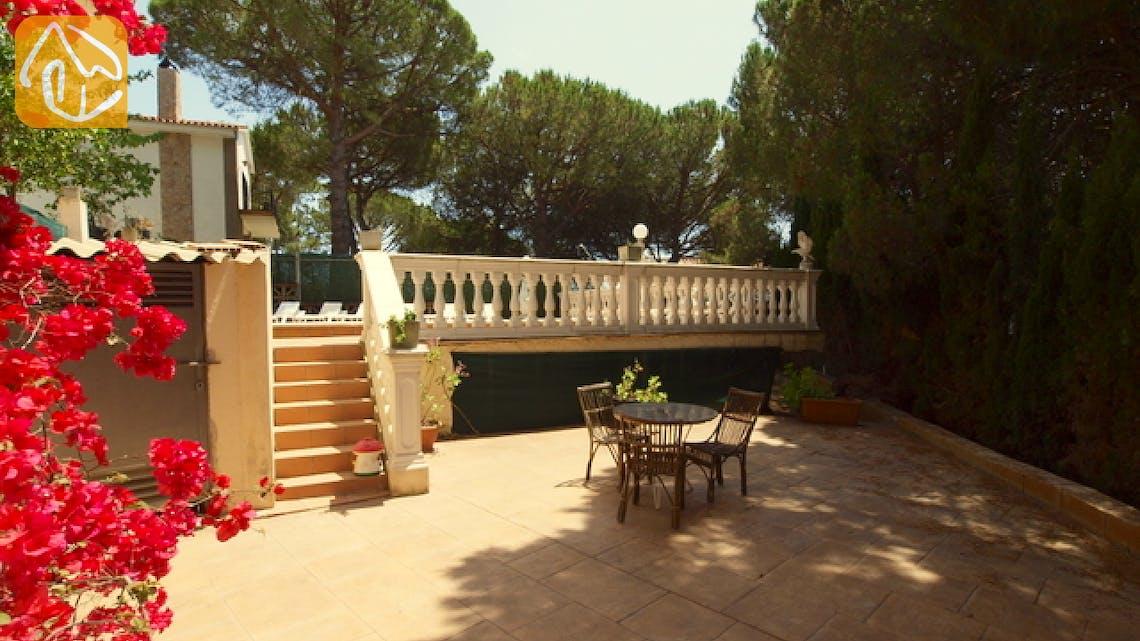 Holiday villas Costa Brava Spain - Villa Caselas - Terrace