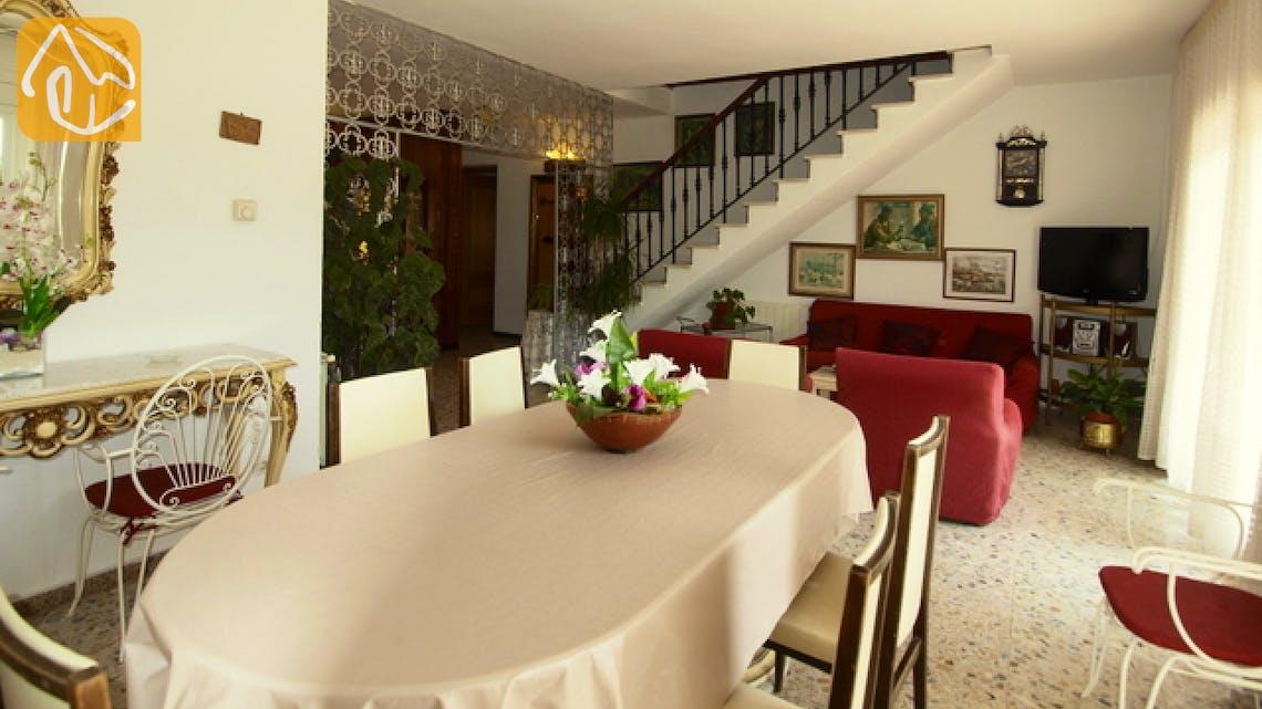 Holiday villas Costa Brava Spain - Villa Caselas - Living area