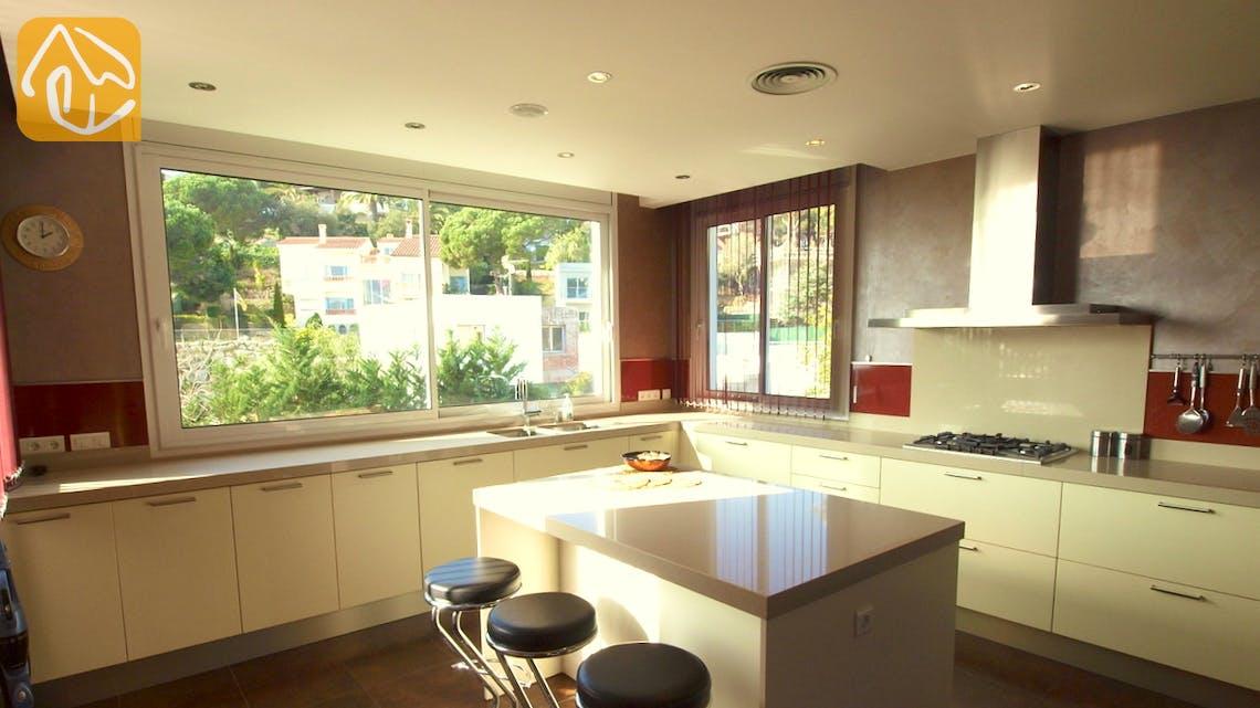 Vakantiehuizen Costa Brava Spanje - Villa Amazing - Keuken