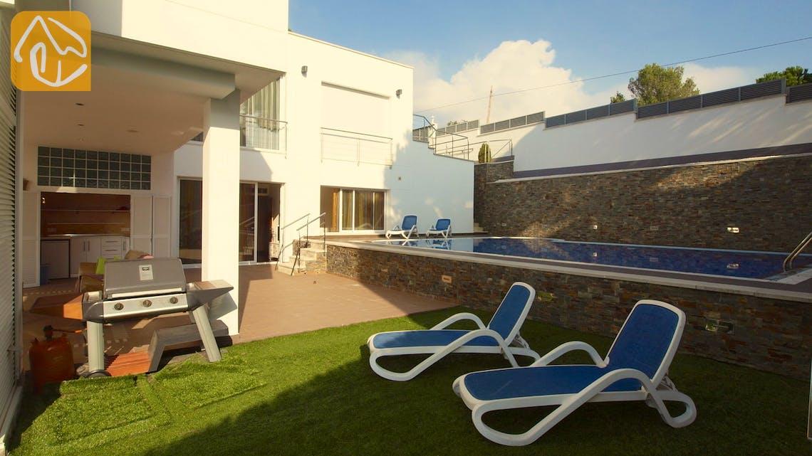 Vakantiehuizen Costa Brava Spanje - Villa Amazing - Tuin