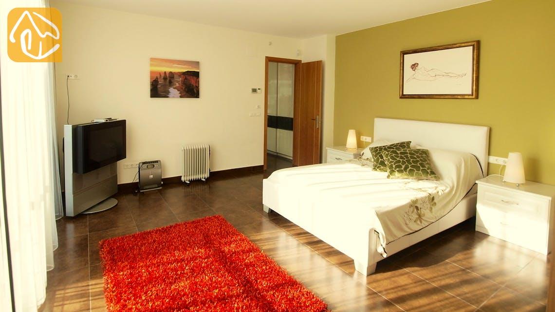 Vakantiehuizen Costa Brava Spanje - Villa Amazing - Hoofd slaapkamer