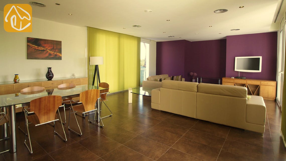 Holiday villas Costa Brava Spain - Villa Amazing - Living area