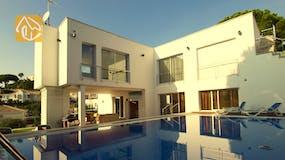 Ferienhäuser Costa Brava Spanien - Villa Amazing - Villa Außenbereich