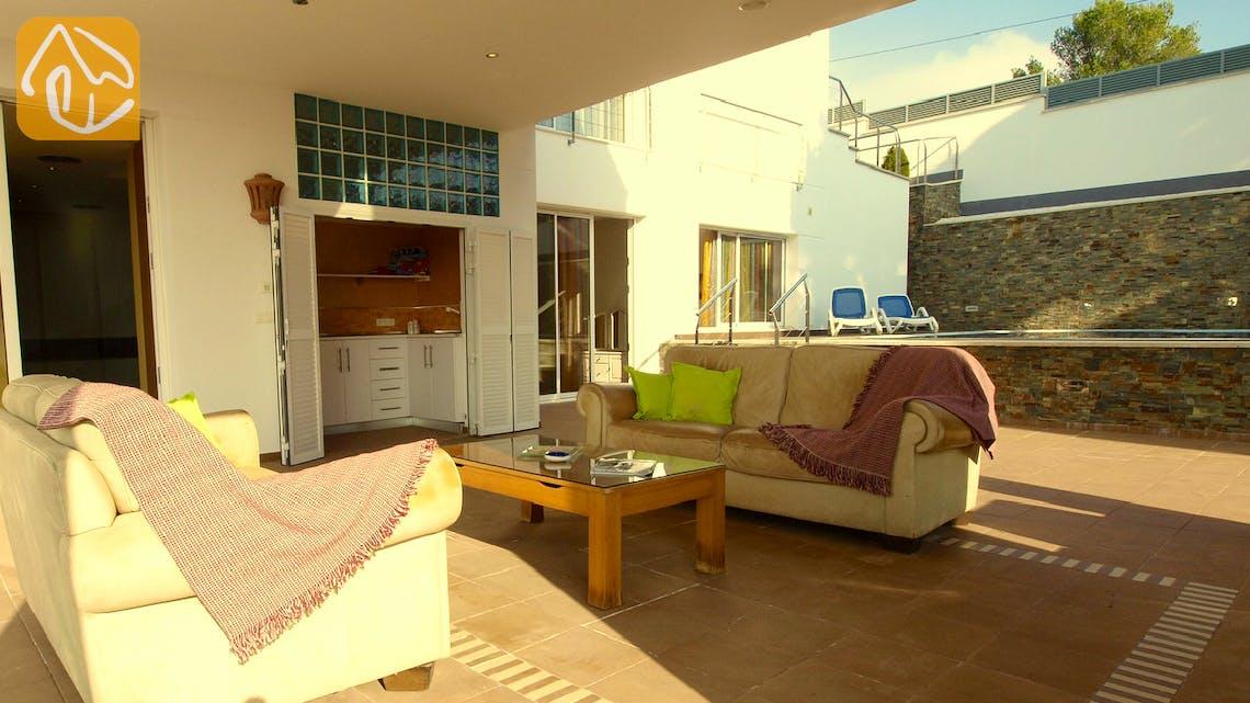 Vakantiehuizen Costa Brava Spanje - Villa Amazing - Lounge gedeelte