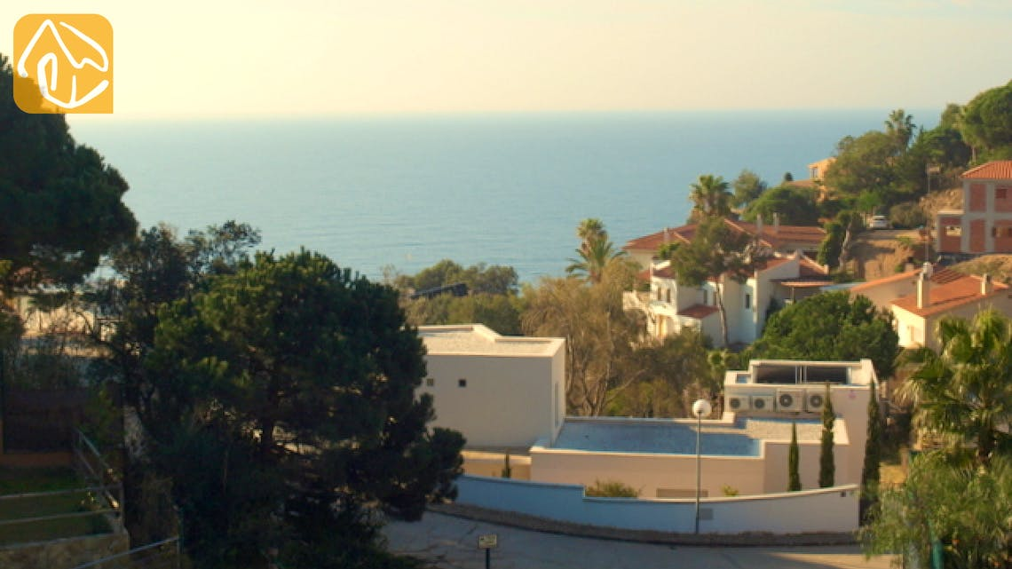 Vakantiehuizen Costa Brava Spanje - Villa Amazing - Eén van de uitzichten