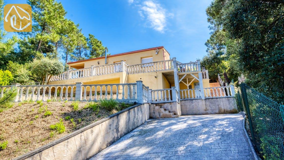 Casas de vacaciones Costa Brava España - Villa Esmee - Afuera de la casa