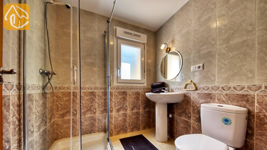 Holiday villas Costa Brava Spain - Villa Esmee - Bathroom