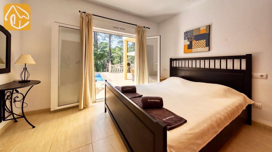 Casas de vacaciones Costa Brava España - Villa Esmee - Dormitorio principal