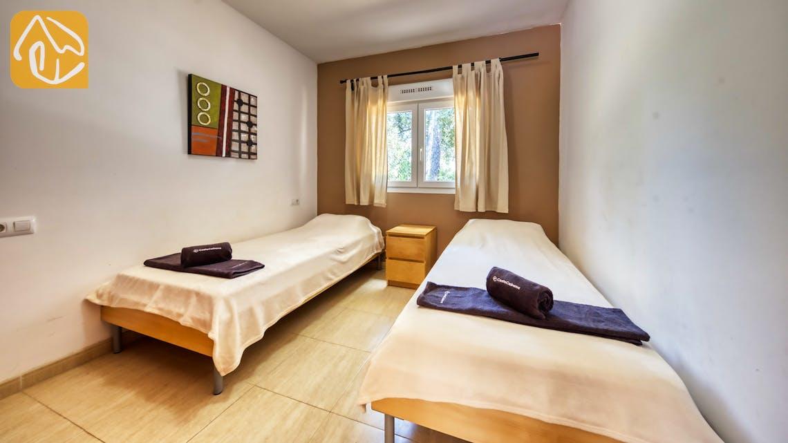 Casas de vacaciones Costa Brava España - Villa Esmee - Dormitorio