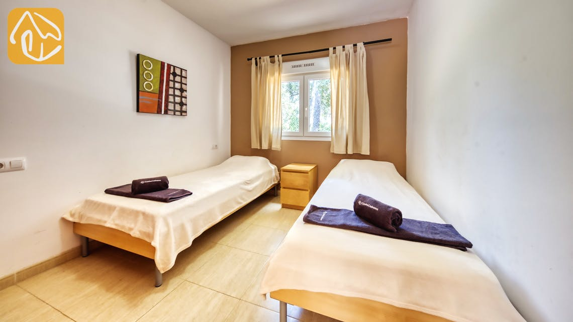 Holiday villas Costa Brava Spain - Villa Esmee - Bedroom