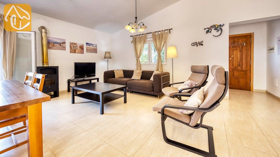 Casas de vacaciones Costa Brava España - Villa Esmee - Salón