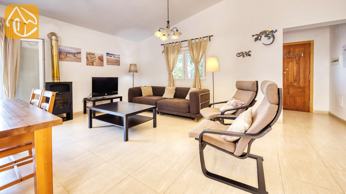 Holiday villas Costa Brava Spain - Villa Esmee - Living area