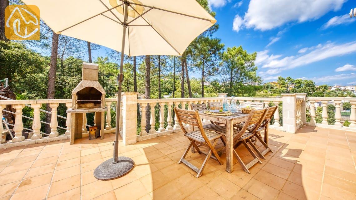 Casas de vacaciones Costa Brava España - Villa Esmee - BBQ Area