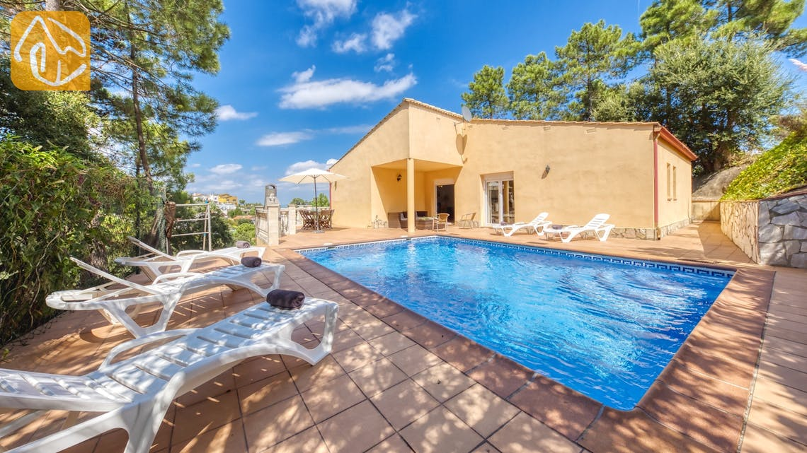 Holiday villas Costa Brava Spain - Villa Esmee - Garden
