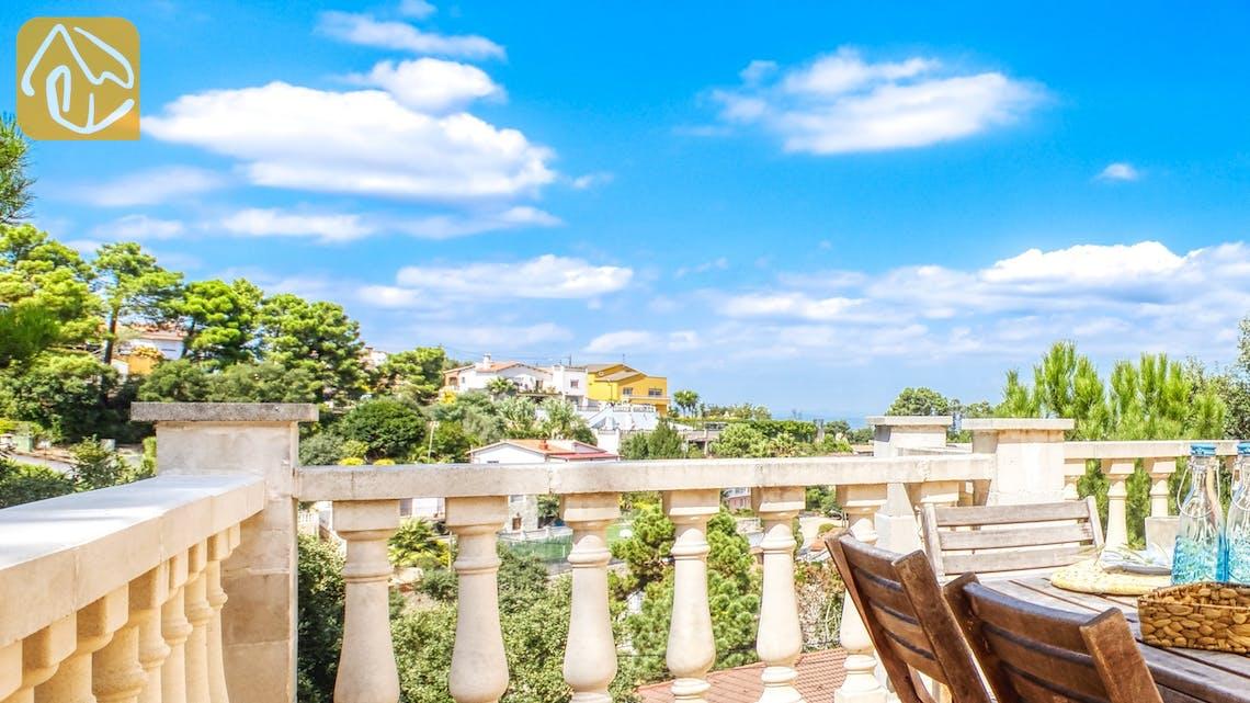 Casas de vacaciones Costa Brava España - Villa Esmee - Una de las vistas