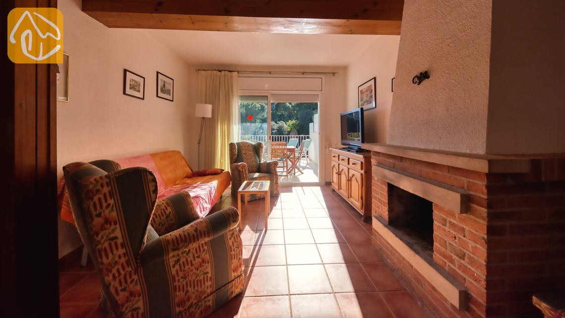 Holiday villas Costa Brava Spain - Casa Vistamar - Living area
