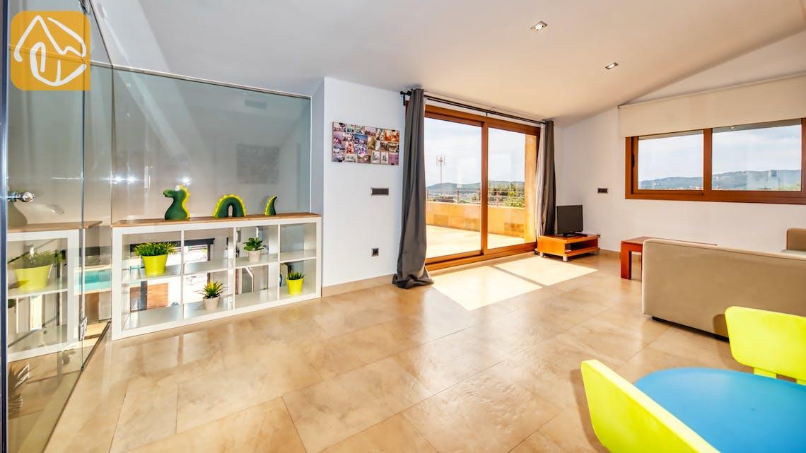 Ferienhäuser Costa Brava Spanien - Villa Ibiza - Spielplatz