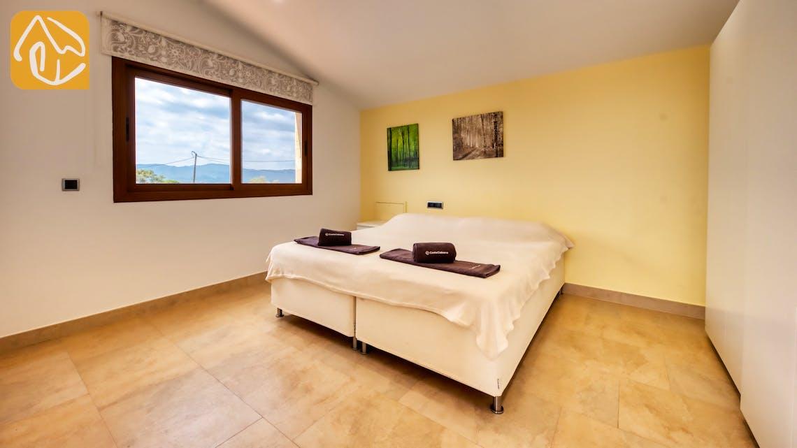 Ferienhäuser Costa Brava Spanien - Villa Ibiza - Schlafzimmer