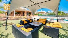 Casa de vacaciones Costa Brava España - Villa Ibiza - Sala de estar