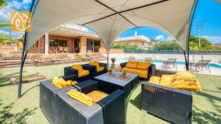 Casas de vacaciones Costa Brava España - Villa Ibiza - Sala de estar