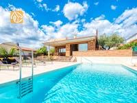 Ferienhäuser Costa Brava Spanien - Villa Ibiza - Schwimmbad