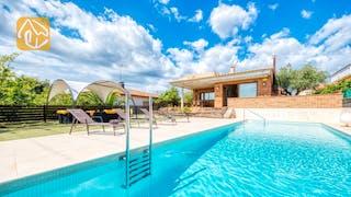Casas de vacaciones Costa Brava España - Villa Ibiza - Piscina