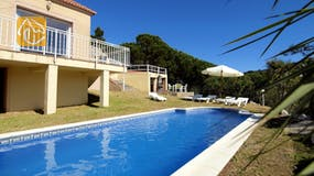 Casa de vacaciones España - Villa Rihanna - Afuera de la casa