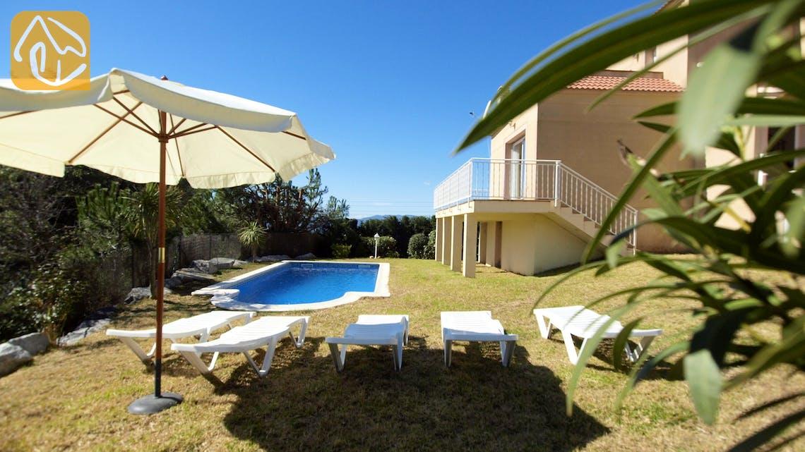 Casas de vacaciones Costa Brava España - Villa Rihanna - Afuera de la casa