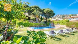 Casas de vacaciones Costa Brava España - Villa Mestral - Piscina