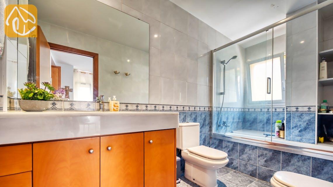 Vakantiehuizen Costa Brava Spanje - Villa Suzan - En-suite bathroom