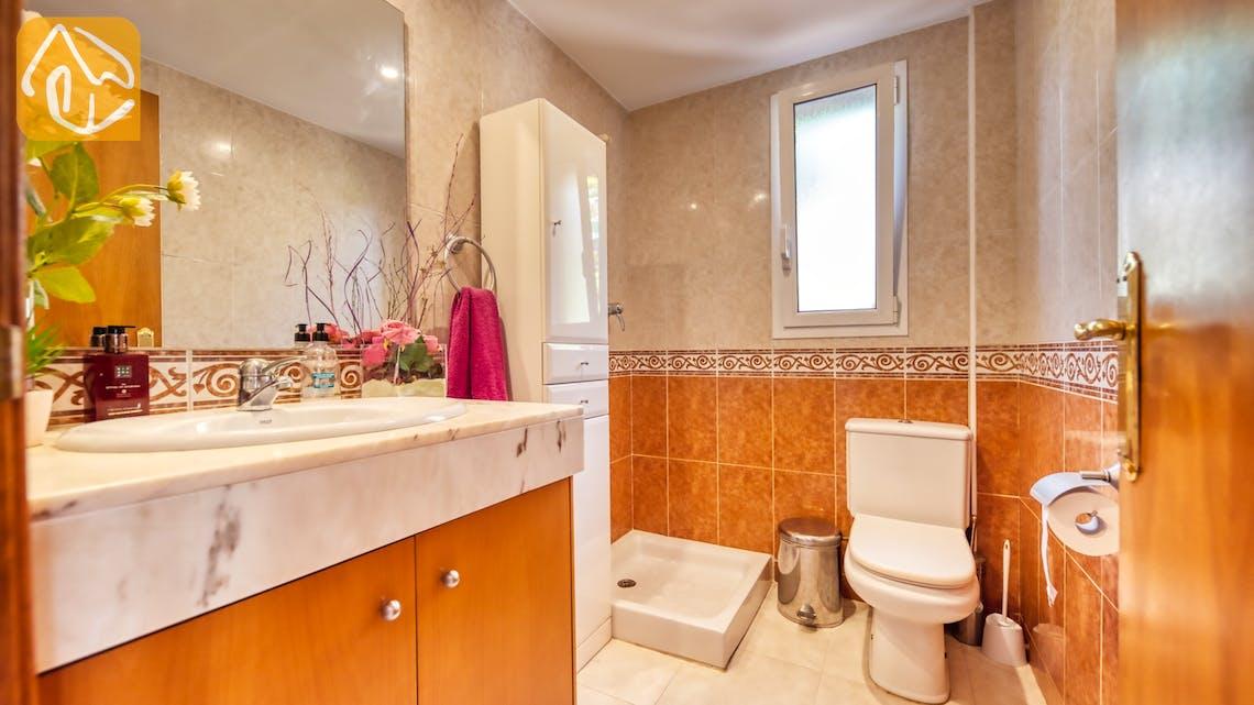 Vakantiehuizen Costa Brava Spanje - Villa Suzan - Badkamer