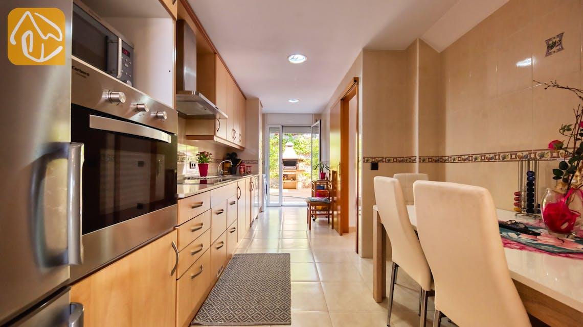 Vakantiehuizen Costa Brava Spanje - Villa Suzan - Keuken