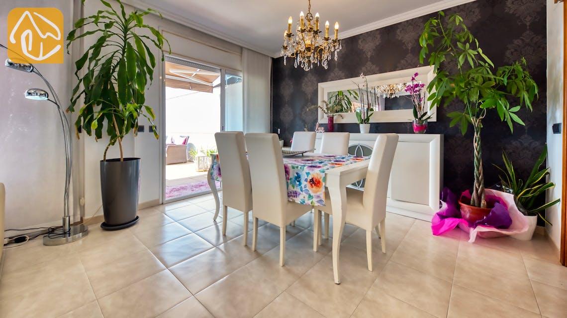 Vakantiehuizen Costa Brava Spanje - Villa Suzan - Diner zone