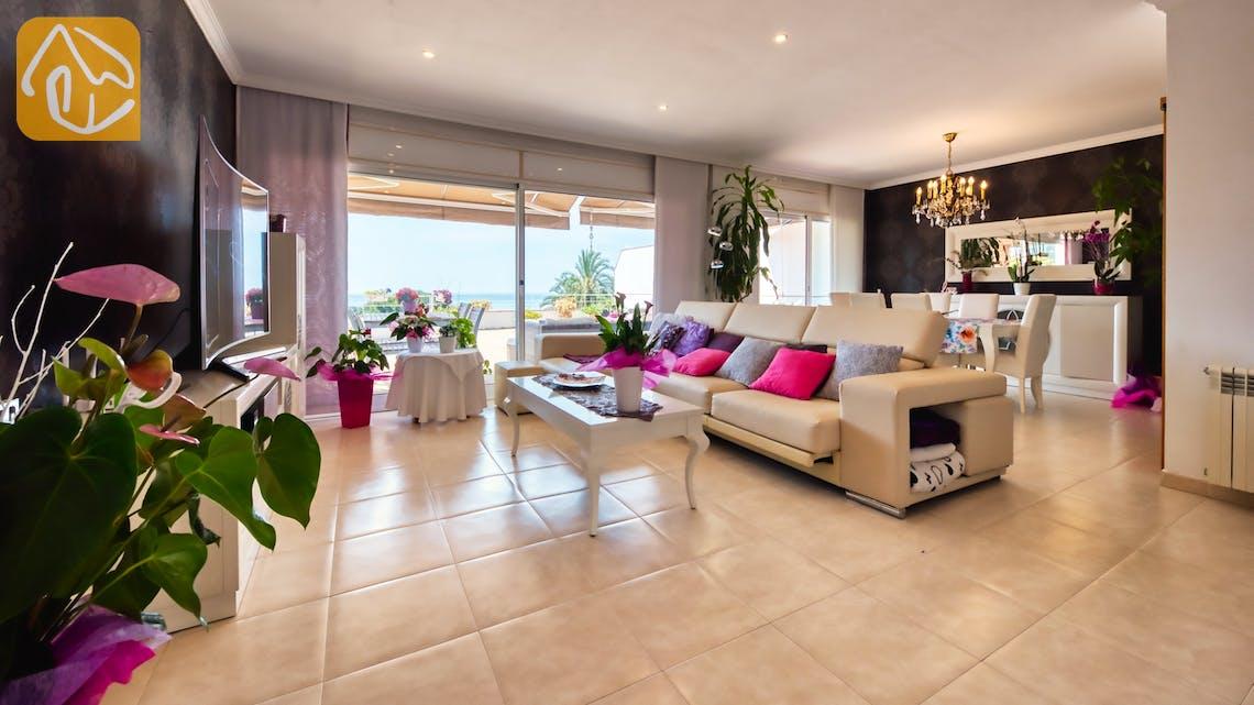 Vakantiehuizen Costa Brava Spanje - Villa Suzan - Woonkamer