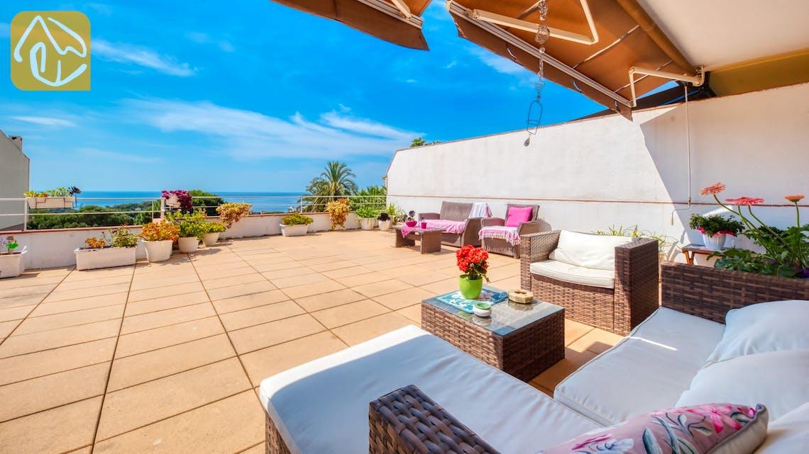 Vakantiehuizen Costa Brava Spanje - Villa Suzan - Lounge gedeelte