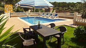 Holiday villa Spain - Villa Corsega - Garden