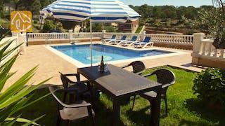 Ferienhäuser Costa Brava Spanien - Villa Corsega - Garten
