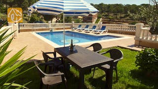 Holiday villas Costa Brava Spain - Villa Corsega - Garden