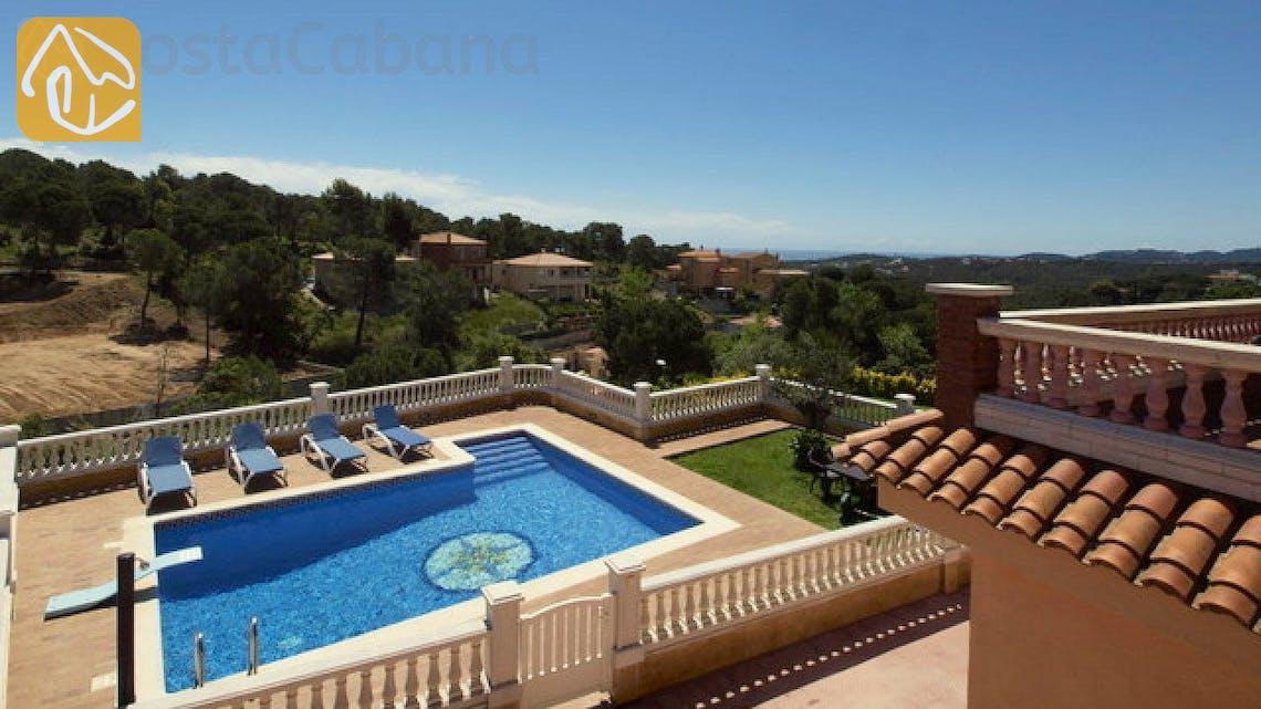 Holiday villas Costa Brava Spain - Villa Corsega - Garden