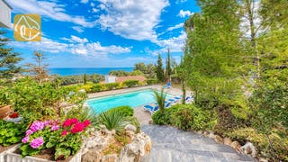 Holiday villas Costa Brava Spain - Villa Emma - Villa outside